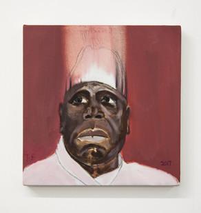 Themba Shibase | Rascal IV | 2017 | Oil on Canvas | 40 x 40 cm