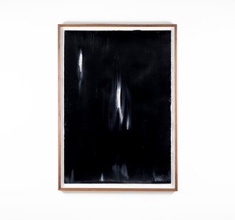Alexandra Karakashian   Undying XXXIX   2018   Oil on Sized Paper   99 x 70 cm