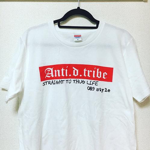 BOX LOGO T SHIRT/ANTI.D.TRIBE