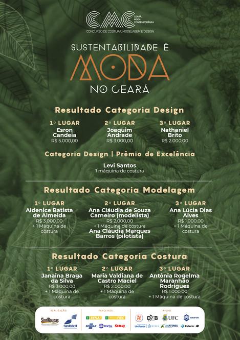 Conheça os finalistas da 10° Edição do Concurso CEARÁ MODA CONTEMPORÂNEA