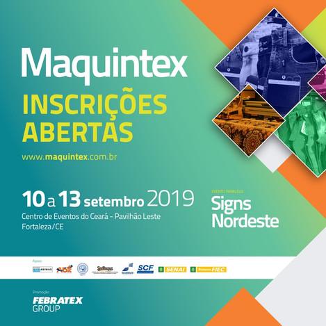 Feira Maquintex em Setembro
