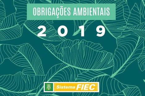 FIEC disponibiliza calendário de obrigações ambientações