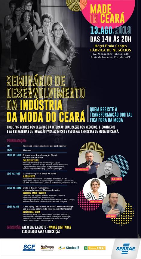 Seminário de Desenvolvimento da Indústria da Moda do Ceará