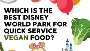 This Is The BEST Disney World Park For Quick Service Vegan Food!