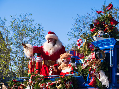Christmas Celebrations at Disney World 2021!