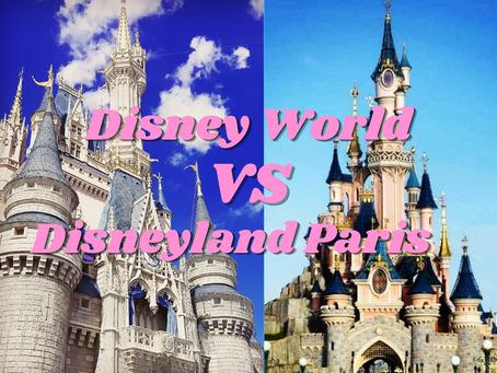 Disney World vs Disneyland Paris