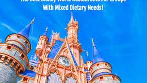 The Best Disney World Restaurants For Groups With Mixed Dietary Needs!