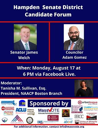 Hampden Senate District Candidate Forum