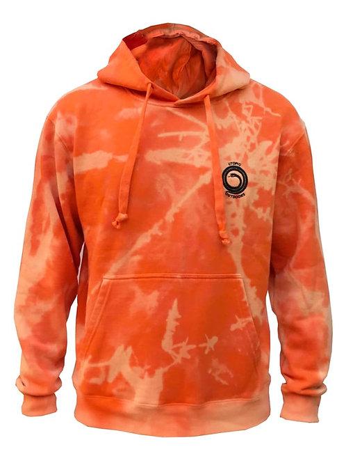 Poleron Shibori Batik Orange Utopic Outdoors