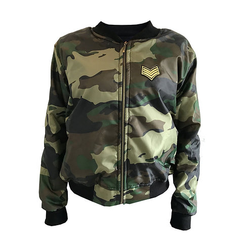 Chaqueta Military Bomber Bosque
