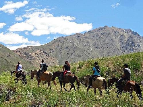 Tour Cabalgata por El Ingenio - Cajón del Maipo