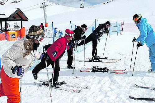 Aprende a Esquiar o Snowboarding en Valle Nevado