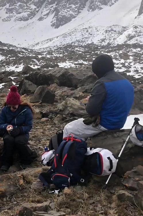 Tour Trekking con Raquetas de Nieve Valle de las Arenas
