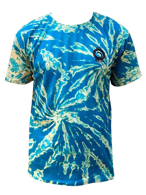 Polera Shibori Batik Blue Utopic Outdoors