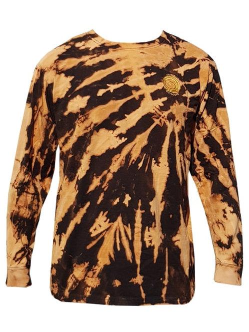 Polera Shibori Batik Black M/L Utopic Outdoors