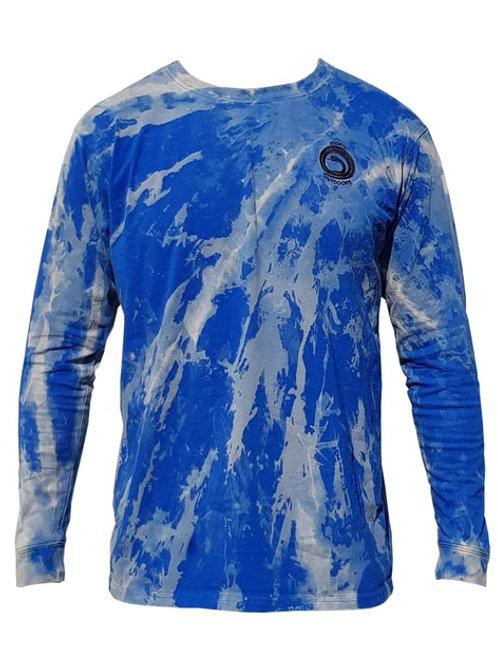 Polera Shibori Batik Blue M/L Utopic Outdoors
