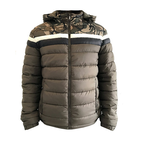 Parka Military Padded Verde Utopic Outdoors