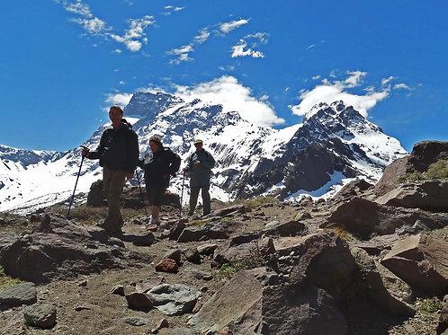 Tour Valle de la Engorda - Andes Hike 8k