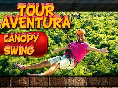 Aventura Tour Canopy + Swing