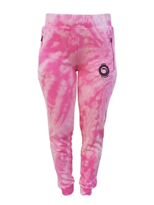 Pantalón Jogger Shibori Batik Fucsia Utopic Outdoors