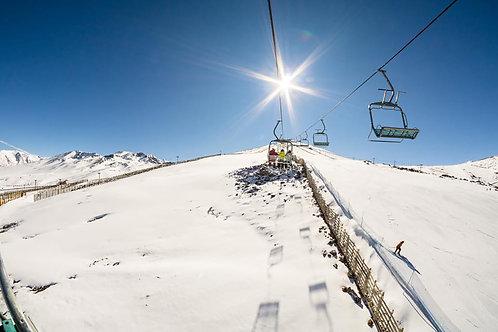 Aprende a Esquiar o Snowboarding en El Colorado