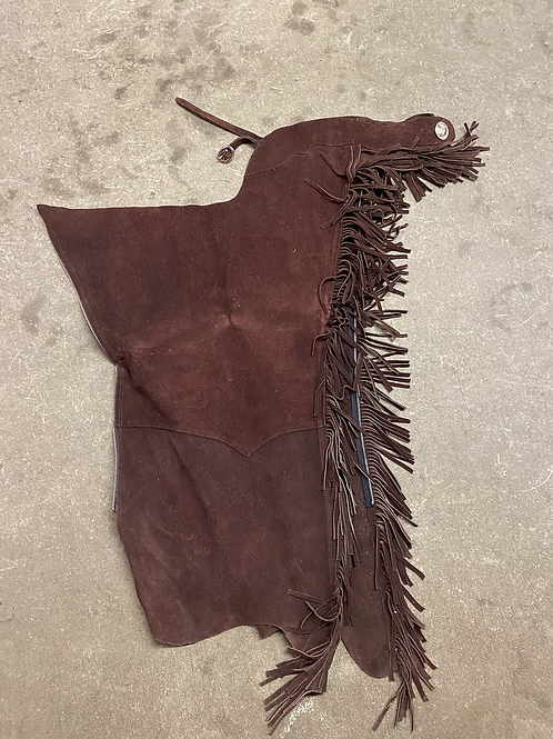 Cinnamon Brown Chaps- Size Medium