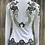 Thumbnail: White Flower Jkt- Womens Xs