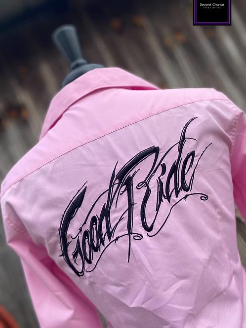 Good Ride Button up- Women's Medium