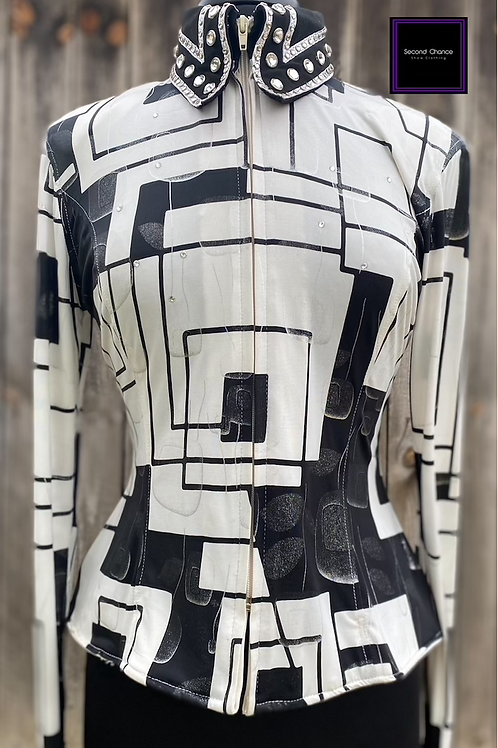 Black & White Connie's Customs- Women's Large