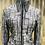 Thumbnail: Black & Gray Expressions Jacket- Womens Large
