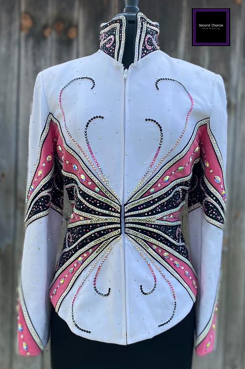 Pink & White Berryfit Jacket- Womens Medium
