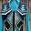 Thumbnail: Teal Vest Set- Womens Xs