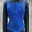 Thumbnail: Black and Blue Vest Set- Womens XL/1X