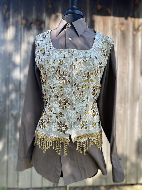 Tan Vest Set- Women's XL/1X