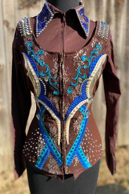 Custom Chocolate Vest and Pad- Womens S/M