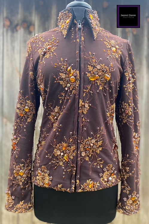 Chocolate & Copper Expressions Jacket- Womens Large