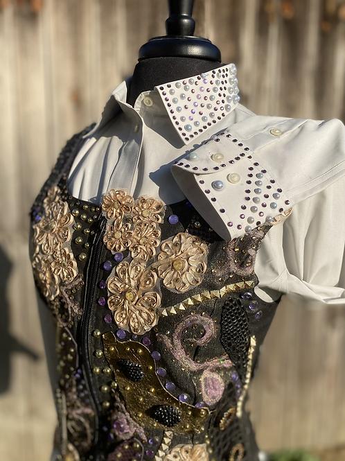 Women's Small vest & shirt set