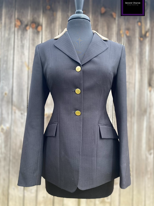 RJ Classics Hunt Coat Size 6 with added collar and buttons