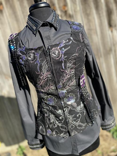 Gray Vest Set- Womens S/M