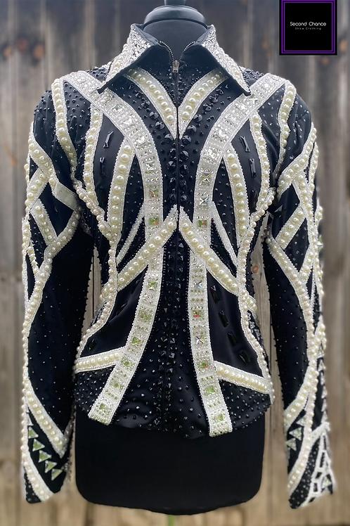 Black & White Jacket- Womens Large