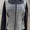 Thumbnail: Black and silver vest with undershirt- Womens XL