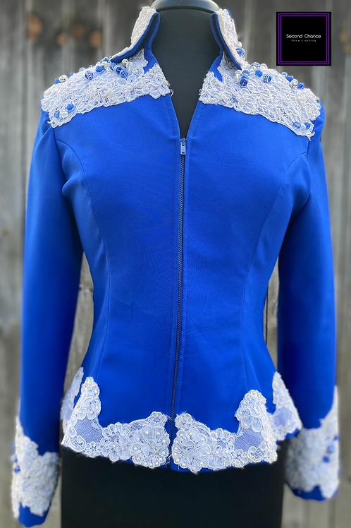 Blue & White Jacket- Women's Medium