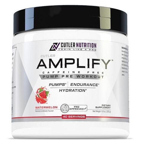 CUTLER NUTRITION AMPLIFY - STIM FREE