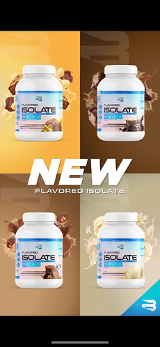 BELIEVE FLAVOURED ISOLATE 4.4lb