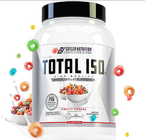 CUTLER NUTRITION TOTAL ISO