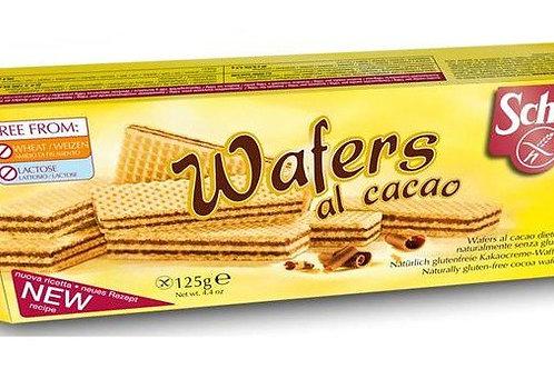 Wafers al cacao 125g Schar