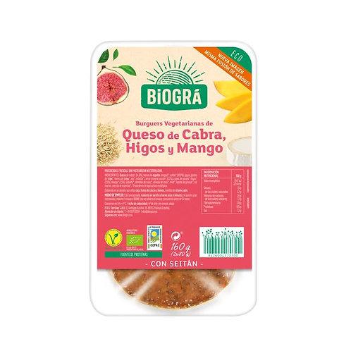Burguer queso Cabra Higos Mango 160g Biográ
