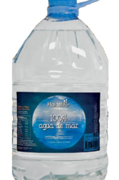 Agua de mar 100% 5l Holoslife