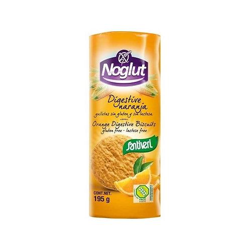 Galletas digestive naranja - Noglut Santiveri - 195g