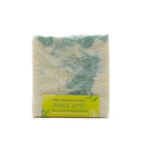 Pastilla jabón Arbol de Té 100g Madreselva